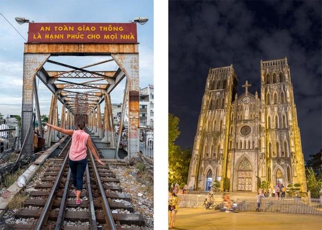Pont Eiffel Long Bien Itinéraire au Vietnam HANOI