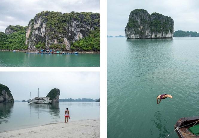 Ha Long Bay croisière Itinéraire au Vietnam Ha Long Bai