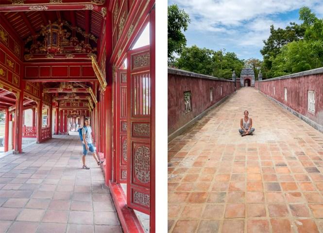 city impérial Itinéraire au Vietnam hue