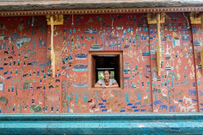 Luang Prabang temple Itinéraire Laos