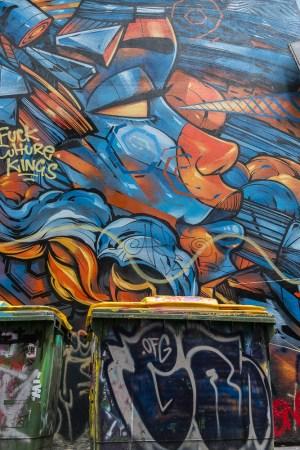 Hosier lane street art melbourne Partir en australie