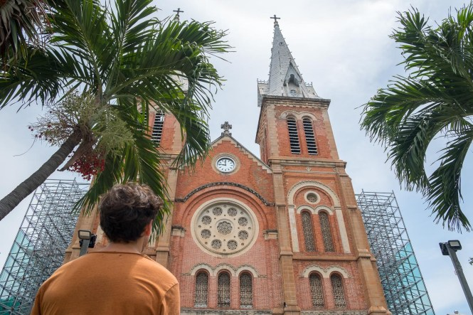 cathédrale Notre Dame de Saigon visiter ho chi minh