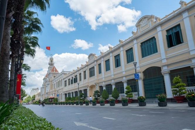 hotel de ville visiter Ho chi Minh