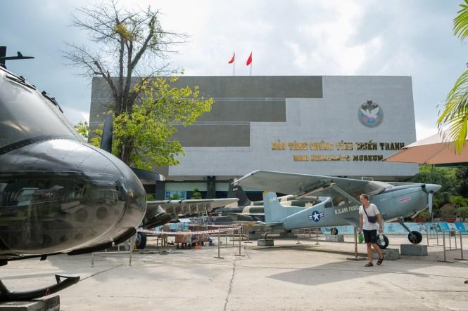 Musée des vestiges de la guerre visiter ho chi minh