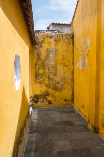 COUR INTERIEUR Temple de Quan Cong VISTER Hoi An vietnam