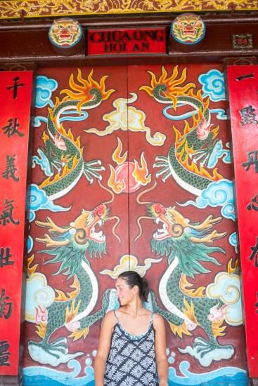 Temple de Quan Cong VISTER Hoi An vietnam