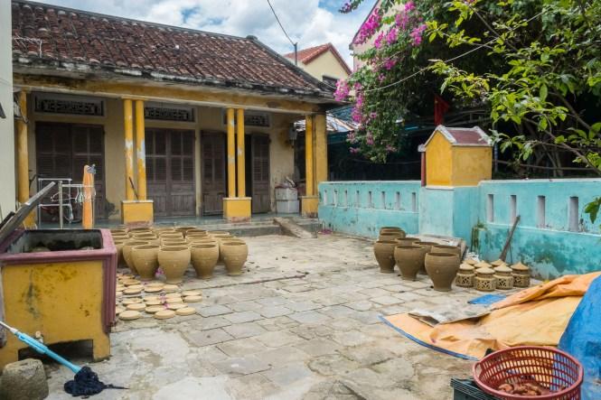 maison Village de Poterie de Thanh Ha visiter hoi an au vietnam