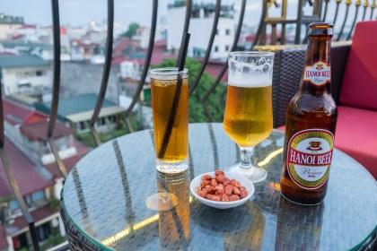 consommation Rooftop du Mk Rooftop visiter hanoi