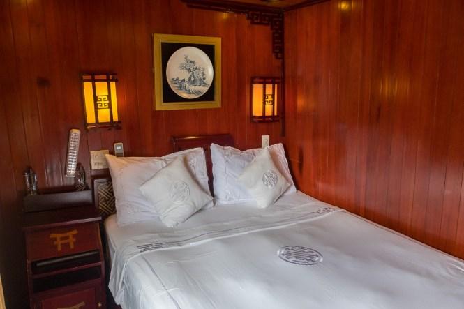Chambre Dragon's Pearl Junk bai tu long vietnam