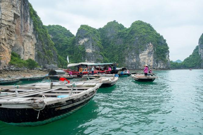Village de pêcheurs Vung Vieng bai tu long vietnam