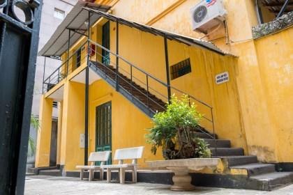 intérieur Prison Hoa La visiter hanoi
