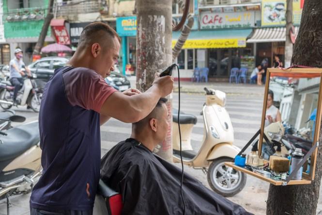 Coiffeur shopping visiter hanoi