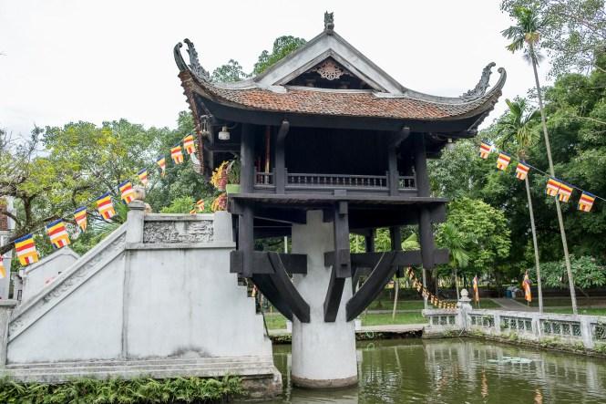 Pagode au Pilier Unique visiter hanoi