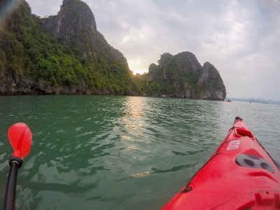 kayak rame bai tu long vietnam