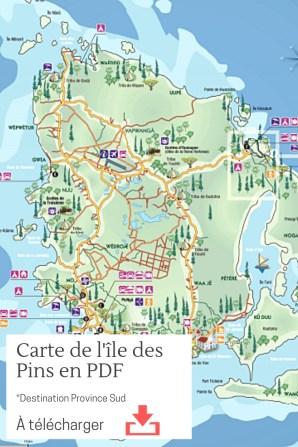 Carte île des pins PDF