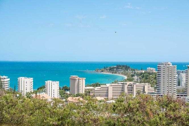 vue-plage-anse-vata-Nouméa-Nouvelle-Calédonie