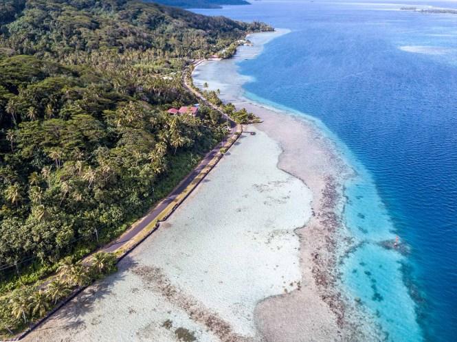 Pass-inter-iles-air-tahiti-tahaa-drone-baie-faatoa