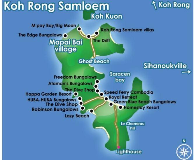 CArte-de-Koh-Rong-Samloem