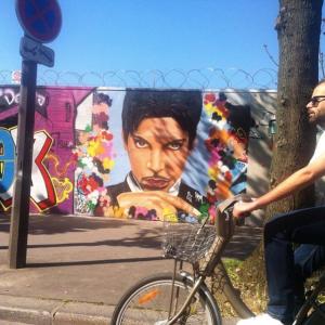 Street art paris Prince St Ouen