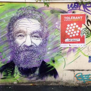 Street art paris Pierre et Marie Curie