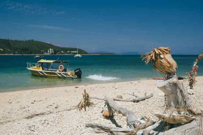 ilot-canard-noumea-taxi-boat