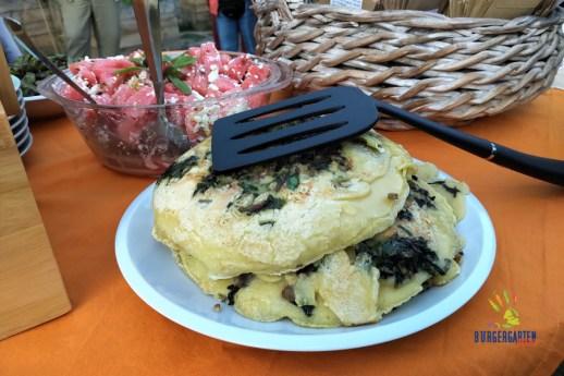 Mangold-Pfannkuchen - das schmeckt auch den Jüngsten