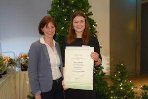 Auszeichnung Hanna Preutha