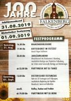 Flyer 100 Jahre Falkenberg