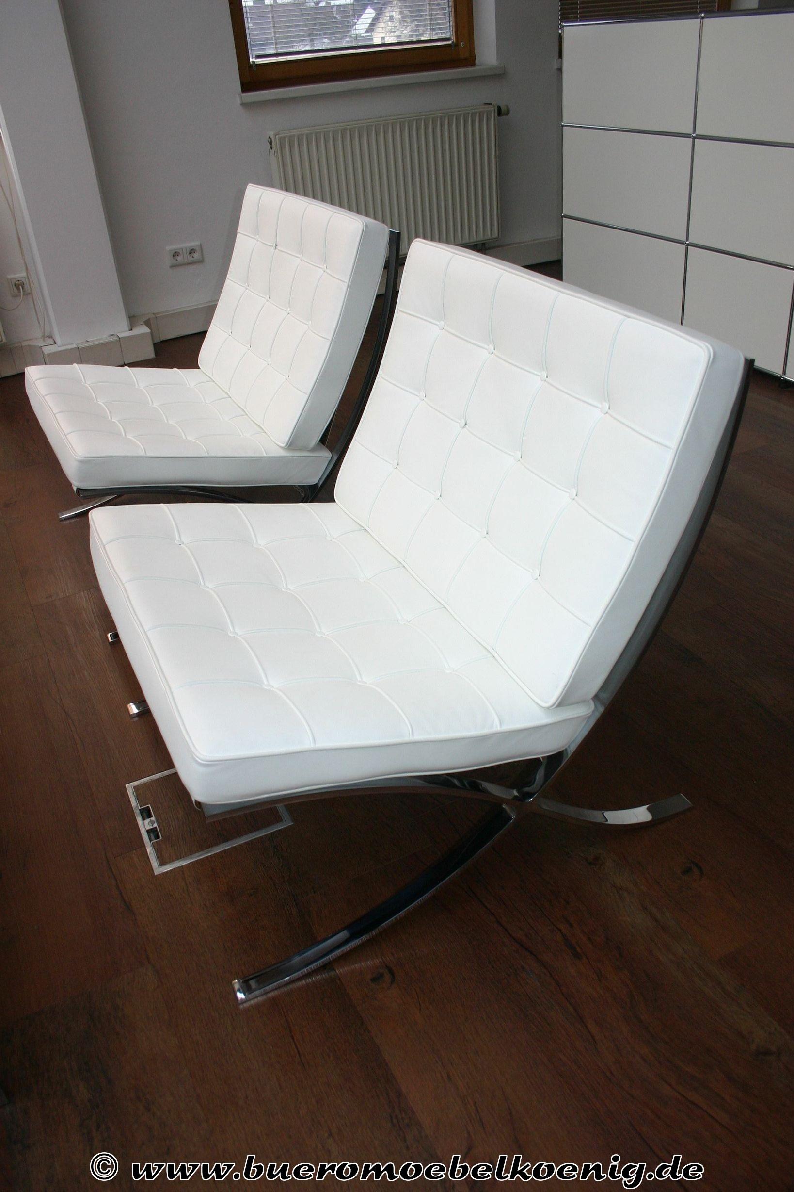 Barcelona Sessel Mr Chair Mies Modern Green House