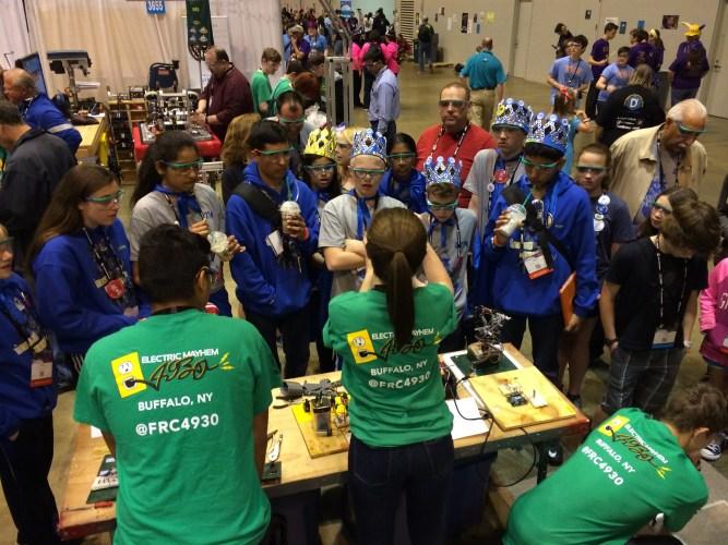 Nichols Robotics Team;  The Electric Mayhem