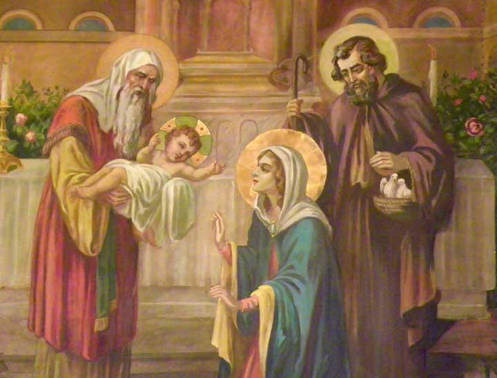 Risultati immagini per presentation of jesus temple