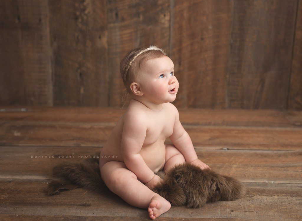 Buffalo baby photography
