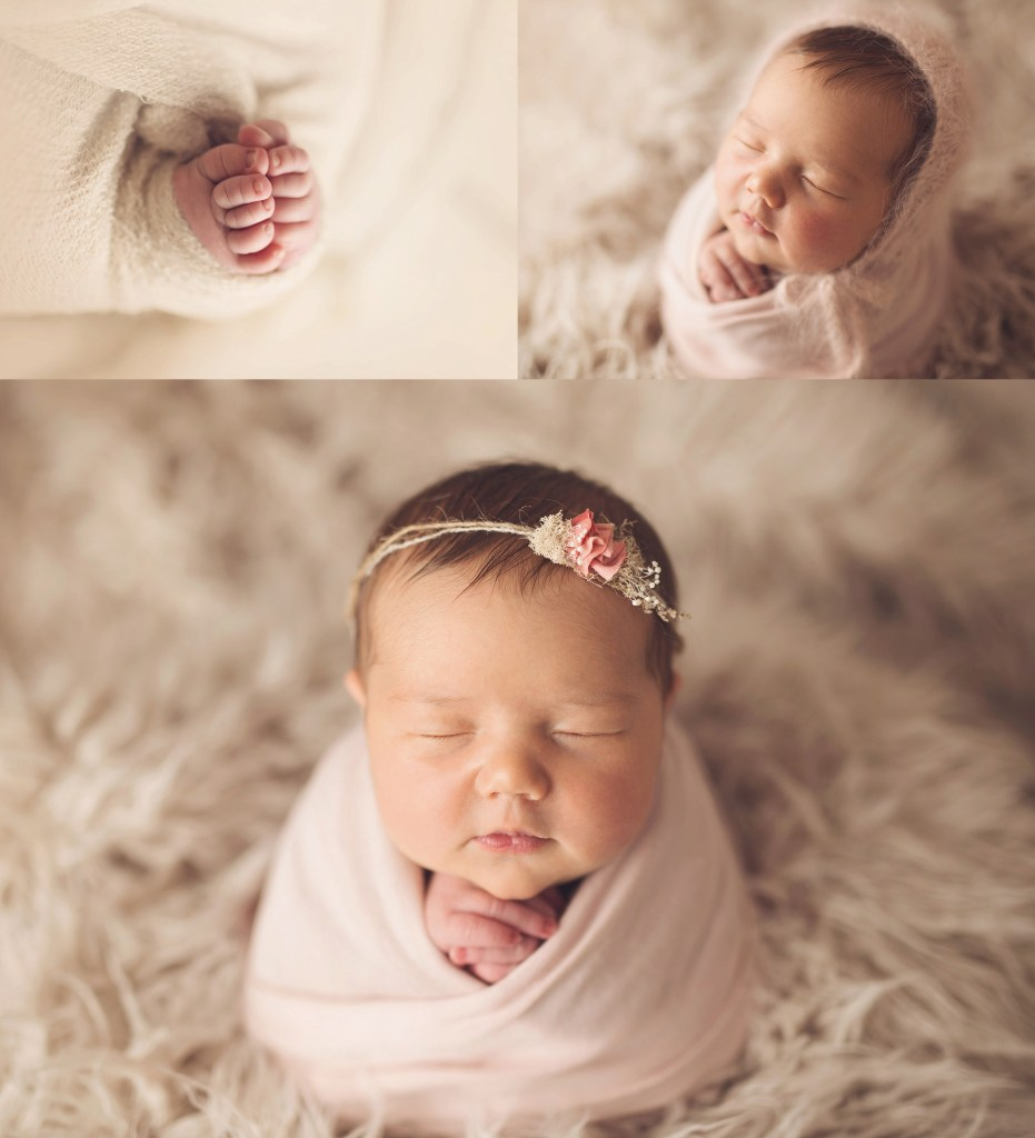 Aubrey Newborn Buffalo Baby Photography