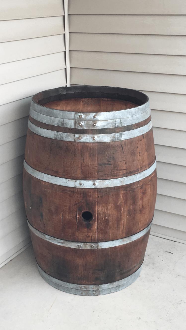 30 Gallon Used Whiskey Barrel  Buffalo Barrel Company