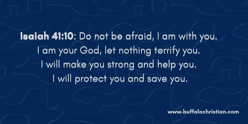 Isaiah bible verses about depression