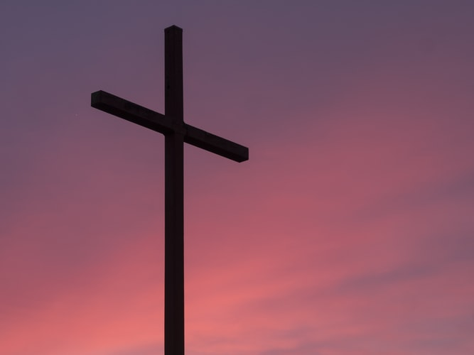It means the debt was fully paid on the cross of calvary by Jesus Christ