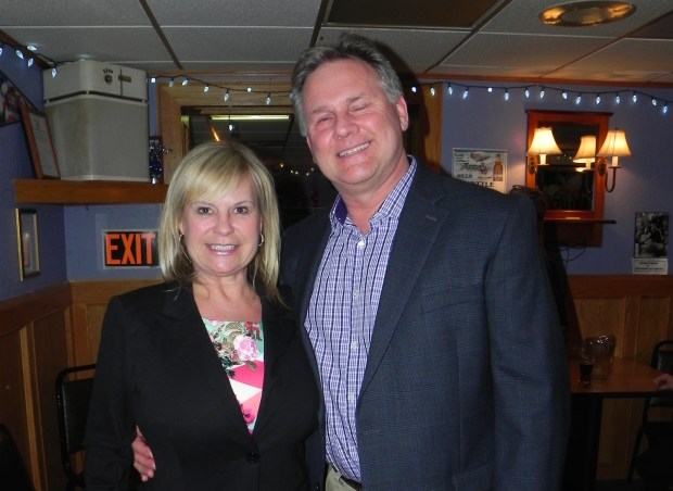 Benczkowski with her husband.