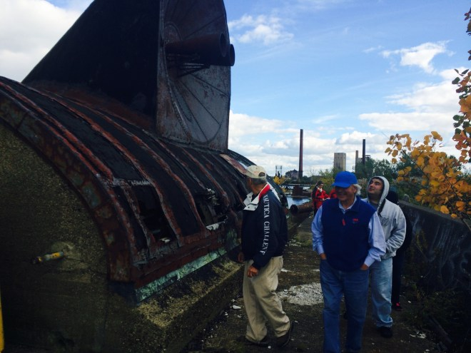 Coppola, retired, is working with local preservationists to restore the south end lighthouse on Buffalo Harbor.