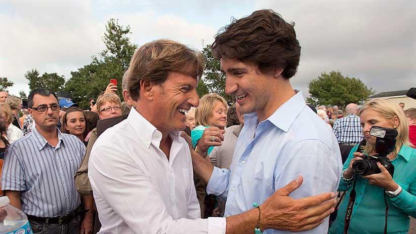 Stephen Bronfman Justin Trudeau