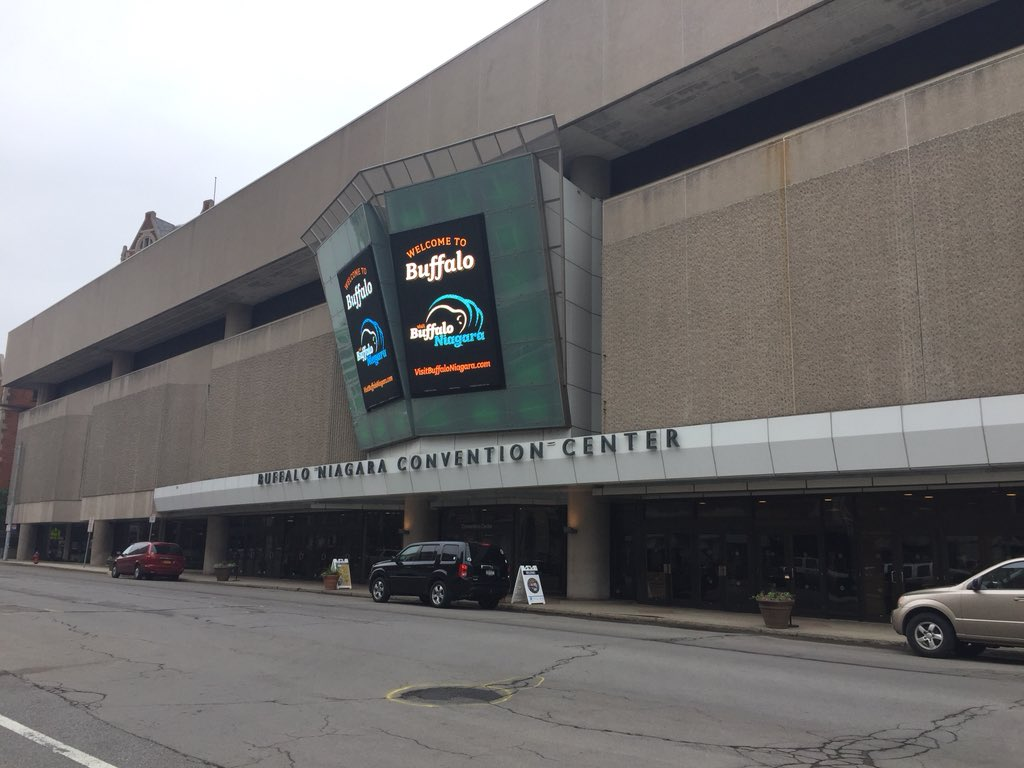 Buffalo Niagara Convention Center June 2017