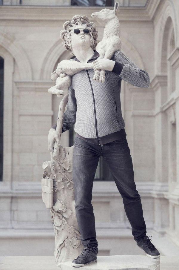 Louvre Sculptures Style Update Buffalo Dandy