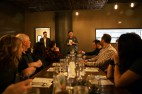 Steve & Head Chef, Brian Mahony, address the BDC members prior to dinner.
