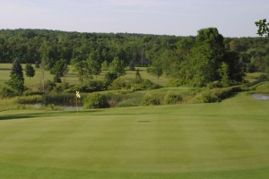 View From Green To Tee On Number 17 At Chestnut Hill
