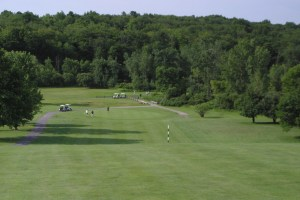 The Drop-Shot Approach To #3 At Chestnut Hill