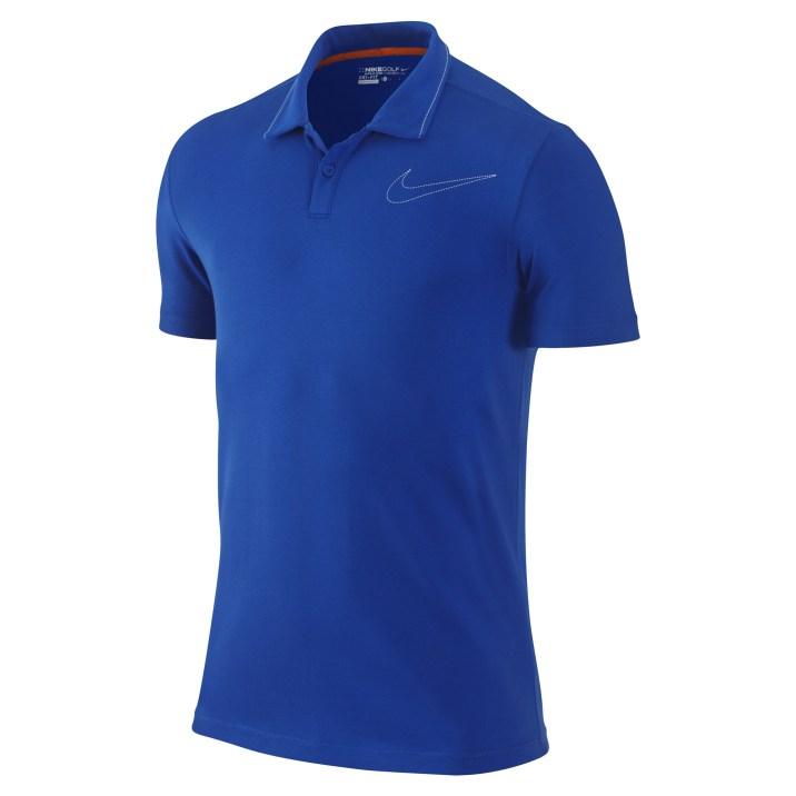 Jersey Swoosh Polo - Signal Blue