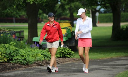 2014 Women's Porter Cup Round Two Scores & Photos