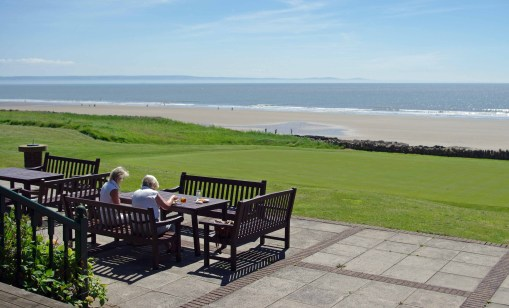 Royal Porthcawl View from Clubhouse