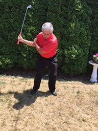 Tom's Featured Tip: Right Elbow Backswing Drill