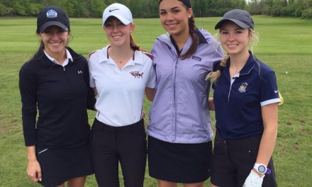 Rinaldi triumphant in Girls State Catholic golf championship