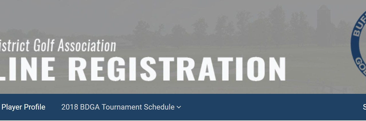 Buffalo District Golf Association debuts new tournament registration system